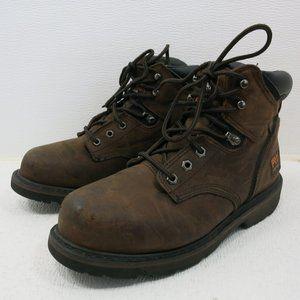 Timberland Nubuck Leather Pro Series Steel Toe 8 W